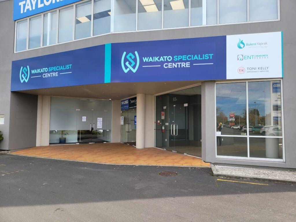 Waikato Specialist Centre Location